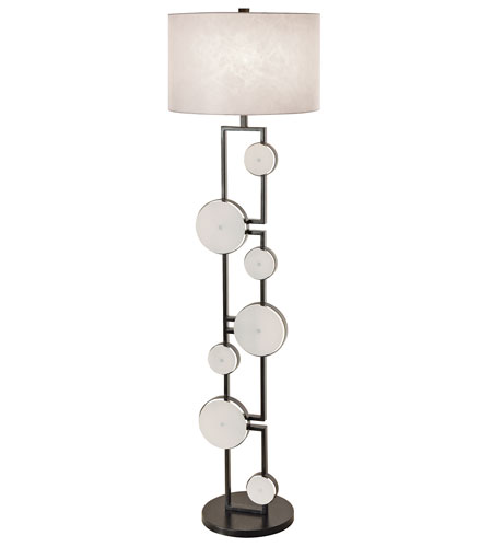 Trend Lighting Spumante 1 Light Floor Lamp in Weathered Slate TF5317 photo
