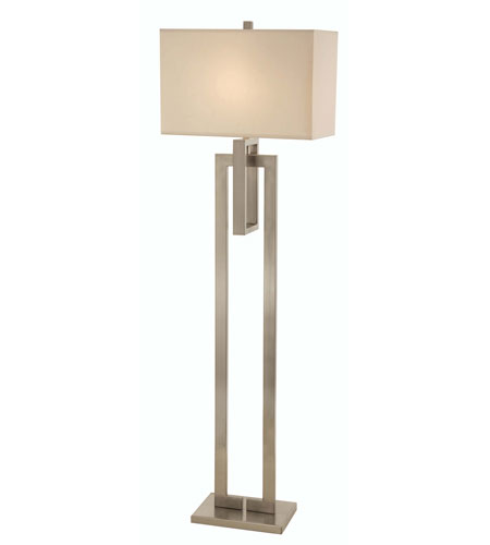 Trend Lighting Precision 1 Light Floor Lamp in Brushed Nickel TF7305 photo