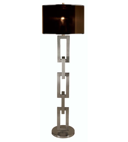 Trend Lighting Linque 1 Light Floor Lamp in Brushed Nickel TF7575 photo