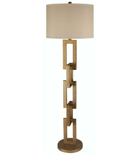 Trend Lighting Linque 1 Light Floor Lamp in Antique Gold TF7576 photo