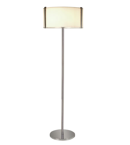 Trend Lighting Apollo 3 Light Floor Lamp in Polished Chrome TF7985 photo