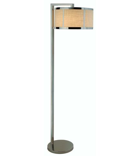 Trend Lighting Butler 1 Light Floor Lamp in Polished Chrome TF7993 photo