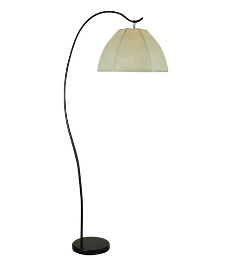 Trend Lighting Bordeaux 1 Light Arc Floor Lamp in Antique Bronze TFA8960 photo