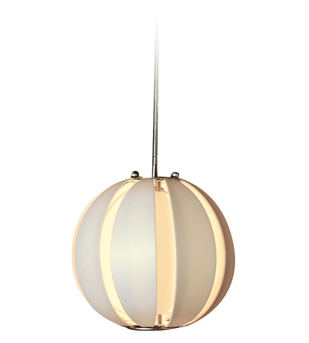 Trend Lighting Pique 1 Light Pendant in Brushed Nickel TP3951-W photo