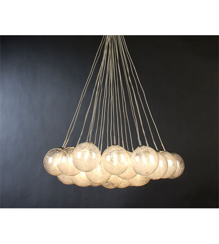 Trend Lighting Orb 24 Light Pendant in Brushed Nickel TP4479 photo
