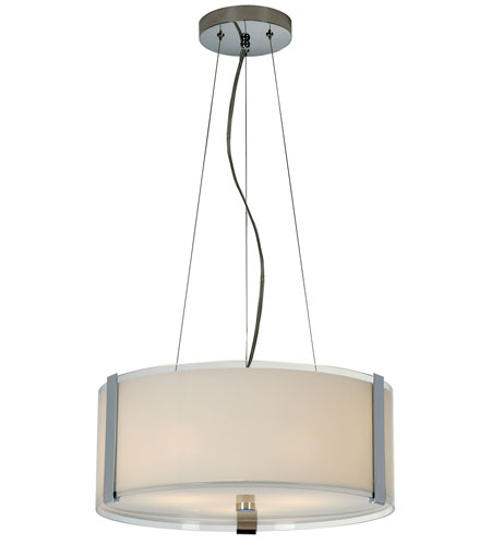 Trend Lighting Apollo 3 Light Large Pendant in Polished Chrome TP7588 photo