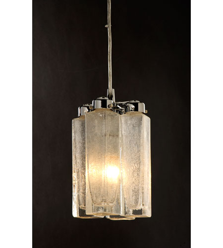 Trend Lighting Park Avenue 1 Light Pendant in Polished Chrome TP7935 photo