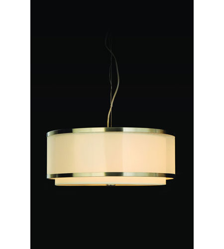 Trend Lighting Lux 3 Light Pendant in Brushed Nickel TP8955 photo