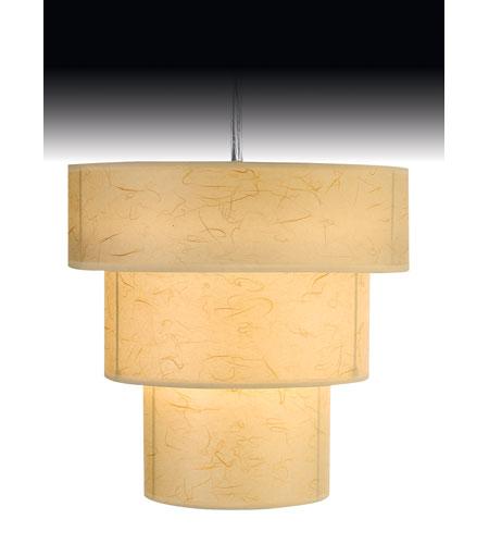 Trend Lighting Astoria 1 Light Pendant in Brushed Nickel TP9206 photo