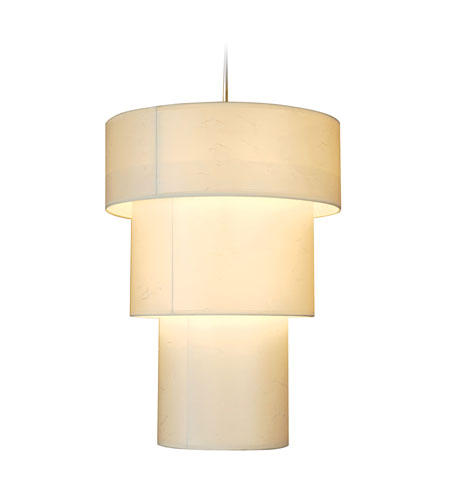 Trend Lighting Astoria 3 Light Large Pendant in Brushed Nickel TP9209 photo