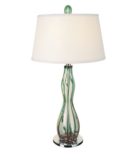 Trend Lighting Venetian 1 Light Table Lamp in Polished Chrome TT1243 photo