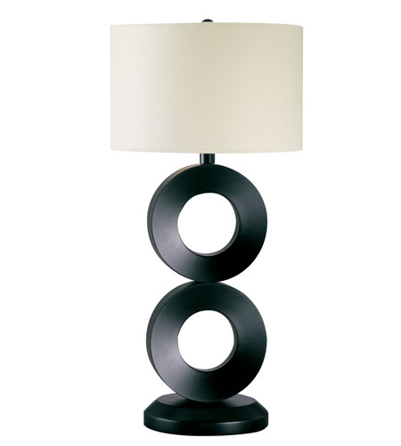 Trend Lighting Rollo 1 Light Table Lamp in Espresso TT3378-50 photo
