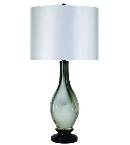 Trend Lighting Dorian 1 Light Table Lamp in Ebony Lacquer TT5100 photo