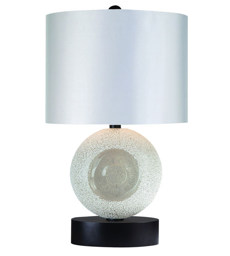 Trend Lighting Delphi 1 Light Table Lamp in White Lacquer TT5360-WW photo