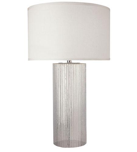 Trend Lighting Oceana 1 Light Table Lamp in Clear Reeded Glass TT5785 photo