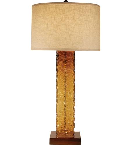 Trend Lighting Apex 1 Light Table Lamp in Teak TT7947 photo