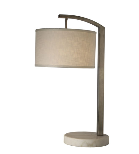 Trend Lighting Station 1 Light Table Lamp in Brushed Nickel TT8212 photo