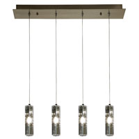 Trend Lighting Quartet 4 Light Pendant in Brushed Nickel A800026-4-R