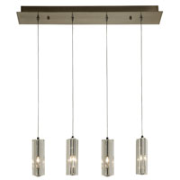 Trend Lighting Quartet 4 Light Pendant in Brushed Nickel A800026-4-T
