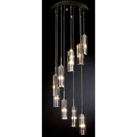 Trend Lighting Spirale 9 Light Pendant in Polished Chrome A800026-9-S