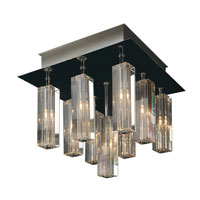 Trend Lighting Horizons 9 Light Flushmount in Polished Chrome A908026-9-S photo thumbnail