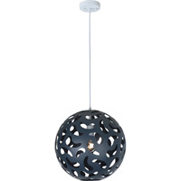 Trend Lighting Soiree 1 Light Pendant in Charcoal Gray BP5916