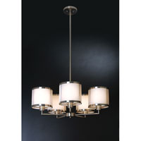 Trend Lighting Lux 5 Light Chandelier in Brushed Nickel BP8945