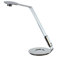 Trend Lighting Edgy 1 Light Task Table Lamp in Polished Stainless Steel TD1300