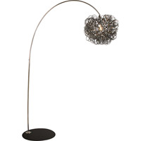 Trend Lighting Mingle 1 Light Arc Floor Lamp in Polished Chrome TFA6838