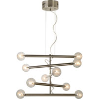 Trend Lighting Mira 10 Light Chandelier in Brushed Nickel TP3700-10