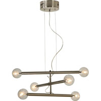 Trend Lighting Mira 6 Light Chandelier in Brushed Nickel TP3700-6