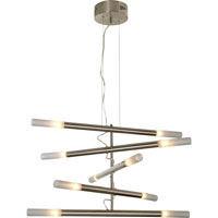 Trend Lighting Cavelleto 10 Light Chandelier in Brushed Nickel TP3900-10