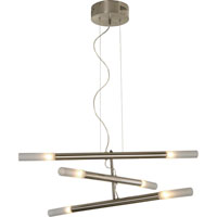 Trend Lighting Cavelleto 6 Light Chandelier in Brushed Nickel TP3900-6