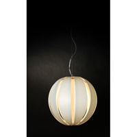 Trend Lighting Pique 1 Light Oval Pendant in Brushed Nickel TP3968-W