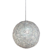 Trend Lighting Distratto 1 Light Pendant in Polished Chrome TP4096
