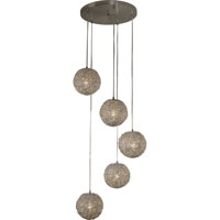 Trend Lighting Salon 5 Light Pendant in Aluminum TP4220-5