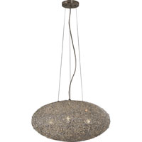 Trend Lighting Salon 4 Light Pendant in Aluminum TP4238