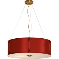 Trend Lighting Scroll 4 Light Pendant in Aged Brass TP4293