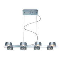 Trend Lighting Satelite 8 Light Pendant in Brushed Aluminum TP4355