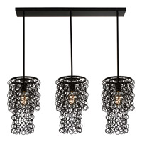 Trend Lighting Knight 3 Light Pendant in Antique Black TP4973