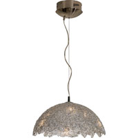 Trend Lighting Meridian 6 Light Pendant in Aluminum TP6072