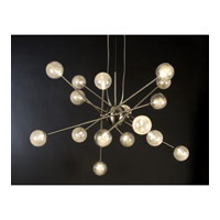 Trend Lighting Galaxia 16 Light Pendant in Brushed Nickel TP6366-16