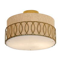 Trend Lighting Bangle 3 Light Flushmount in Matte Gold TP6412