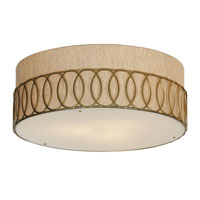 Trend Lighting Bangle 3 Light Large Flushmount in Matte Gold TP6416