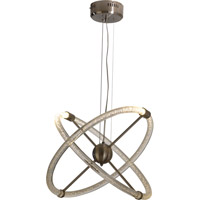 Trend Lighting Compass LED Pendant with Clear Bubble Shade TP6628