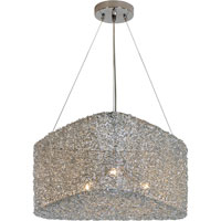 Trend Lighting Dante 3 Light Pendant in Aluminum TP6756
