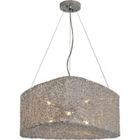Trend Lighting Dante 6 Light Pendant in Aluminum TP6759