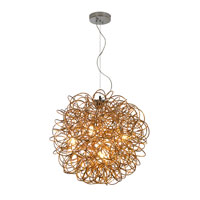 Trend Lighting Mingle 3 Light Pendant in Faceted Gold TP6816