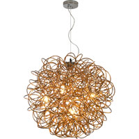 Trend Lighting Mingle 6 Light Pendant in Faceted Gold TP6819