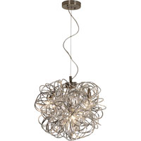 Trend Lighting Mingle 3 Light Pendant in Aluminum TP6826